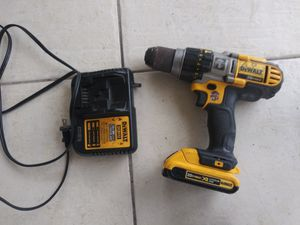 Dewalt 20v Max Drill with battery no charger for Sale in Miami, FL