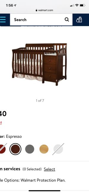 Mini Crib with changing table for Sale in Brooklyn, NY
