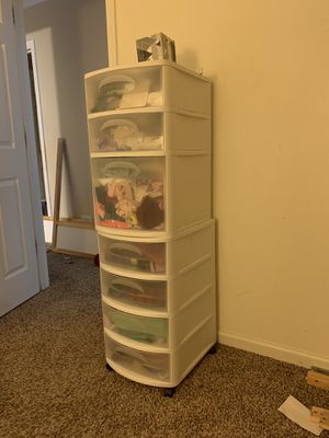 Plastic drawers for Sale in Naperville, IL