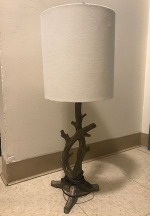 Lamp with branch base for Sale in Boston, MA