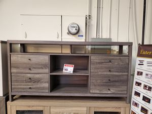 Jane TV Stand up to 70in TVs, Distressed Grey for Sale in Santa Fe Springs, CA