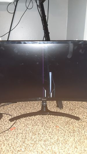 Curved 144hz monitor 4m FOR PARTS for Sale in Bakersfield, CA