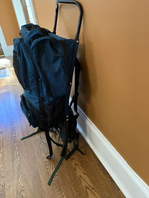 EMS exterior frame hiking backpack camping gear for Sale in Raleigh, NC