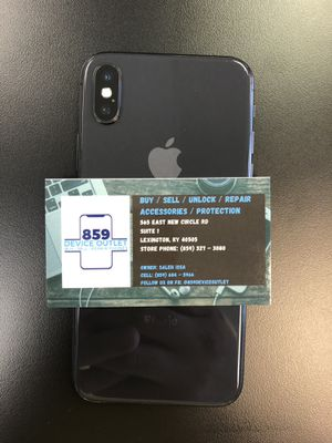 iPhone X 64gb (T-Mobile / Metro pcs) for Sale in Lexington, KY