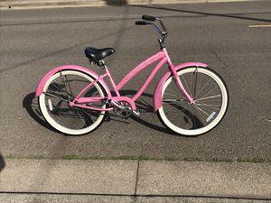 PINK ladies beach cruiser bike sale for Sale in Woodburn, OR