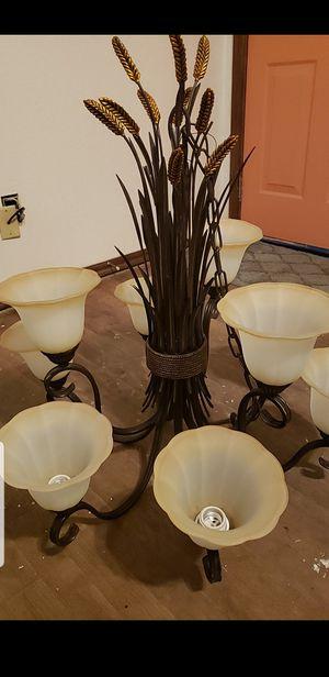 9 lamp luminaria incandescente chandelier for Sale in Oklahoma City, OK