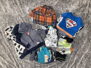 0-3 months baby boy clothes for Sale in Bakersfield, CA
