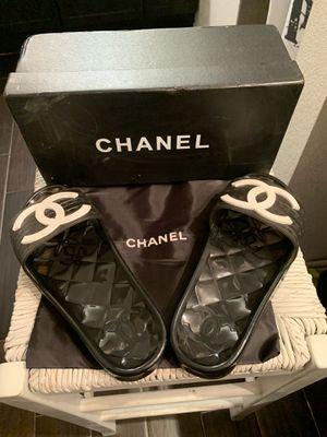 Chanel slides size 8 for Sale in Glendale, AZ