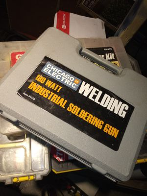 Solderong gun elecrtic pressure washer, & drill bits for Sale in Columbus, OH