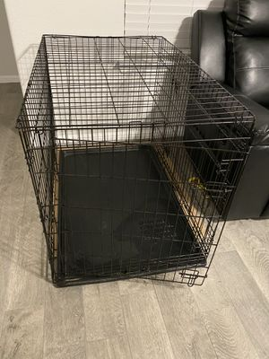 Large dog crate for Sale in Fort Worth, TX