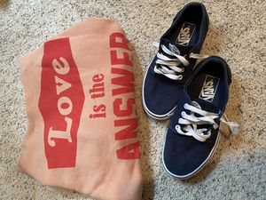 Vans shoes and Forever 21 hoodie for Sale in Everett, WA