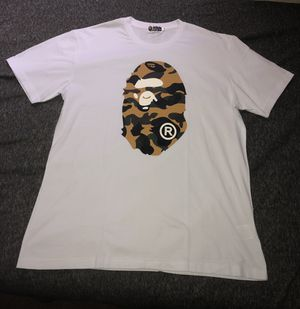 Bape White Camo Shirt (Size XXL) for Sale in Inglewood, CA