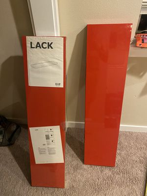 IKEA - 2 BRAND NEW LACK Floating Bookshelves for Sale in Redmond, WA