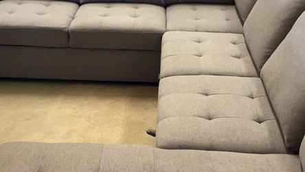 🎯 New!! Storage Sleeper Sectional Sofa Available for Sale in Las Vegas,  NV