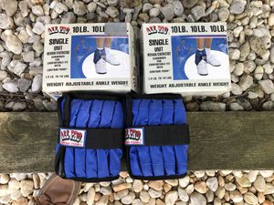 (2) adjustable weight ankle weights... for Sale in Elizabethtown, PA