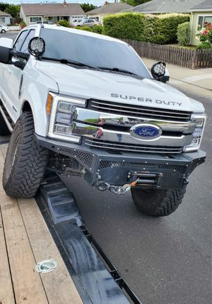 Custom High Clearance/Low Profile Winch Bumper 2017+ Superduty for Sale in Burlingame, CA