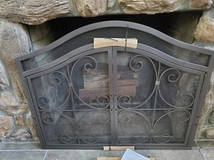Fireplace screen with doors for Sale in Haines City, FL