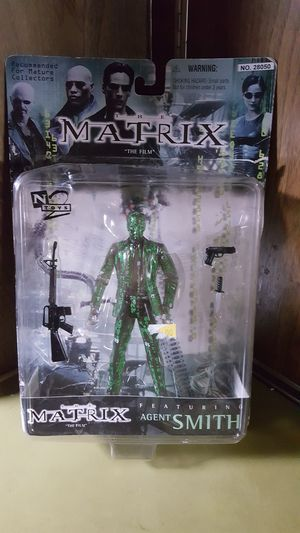 The Matrix Agent Smith Action Figure N2 Toys 1999 for Sale in Hazard, CA
