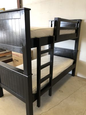 Sale new bunk bed twin twin with mattress free delivery 🚚 for Sale in Delano, CA