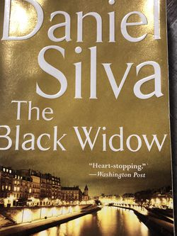 Used Paperback Book : The Black Widow by Daniel Silva for Sale in Pinellas Park,  FL