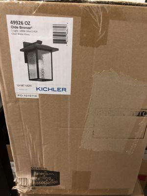 Outside lights (2) kichler brand for Sale in Falls Church, VA