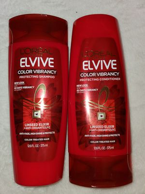 L'oreal Elvive color vibrancy shampoo and conditioner for Sale in Las Vegas, NV