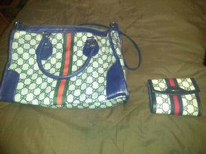 Vintage Gucci purse and wallet for Sale in Nashville, TN