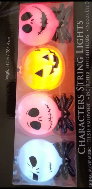 Disney Nightmare Before Christmas Lights with Sound NIB for Sale in Fontana, CA