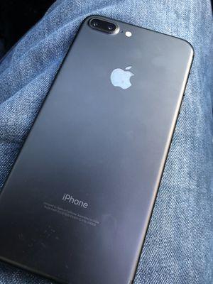 iPhone 7 Plus matte black unlocked for Sale in St. Petersburg, FL