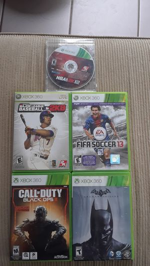 Xbox 360 Games for Sale in Danville, PA