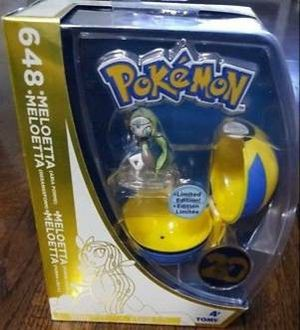Pokemon 20th Anniversary Clip N Carry Pokeball Meloetta with Quick Ball for Sale in Lakeside, CA