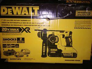 DEWALT 20V MAX SDS Rotary Hammer Drill Kit, 5-Ah Batteries (DCH273P2) for Sale in Burlington, NJ