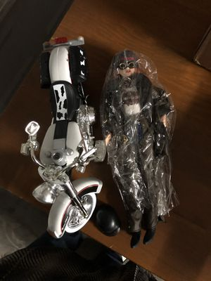 Harley Davidson Barbie and bike for Sale in Henderson, NV