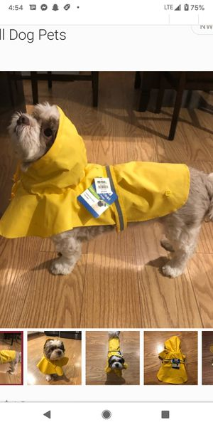 Small Dog Rain Coat for Sale in Mount Hope, KS