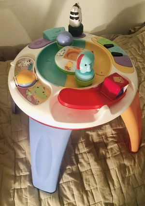 Activity table - plays music - babies and toddlers LOVE IT! for Sale in Hayward, CA
