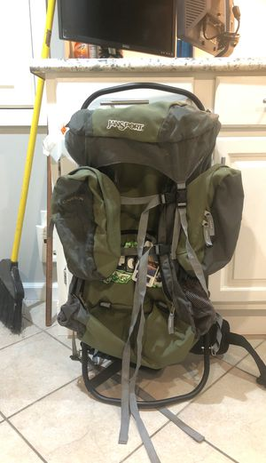 Jansport Hiking Backpack with Frame for Sale in Wantagh, NY