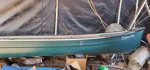 Coleman 166 canoe and paddles for Sale in Portland, OR