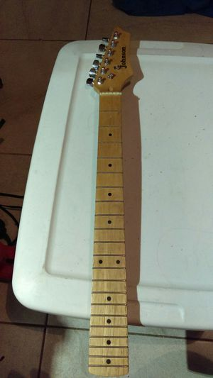 Stratocaster maple neck with tuners for Sale in Chandler, AZ
