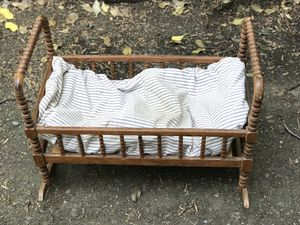 Antique Baby/Baby Doll Cradle for Sale in Portland, OR