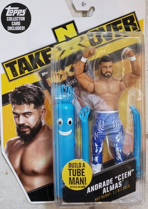 New WWE NXT ANDRADE Action Figure. for Sale in Apopka, FL