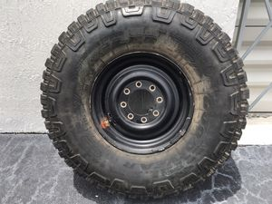 MudTires 37X12.50R16.5 Jeep Wrangler Hummer Wheels for Sale in Hialeah, FL