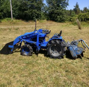 Iseki diesel tractor (TX1500f...same as Bolens G174) for Sale in Steilacoom, WA