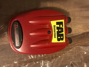 Fan distortion pedal for Sale in Erie, MI