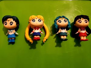Sailor Moon 3in collectible figures for Sale in Maricopa, AZ