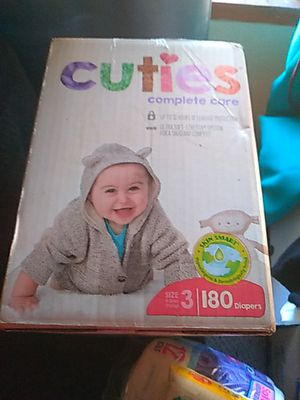 Size 3 180 diapers or 40 count for Sale in Los Angeles, CA