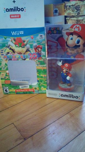 Mario Party 10 + amiibo edition for Sale in Milwaukee, WI
