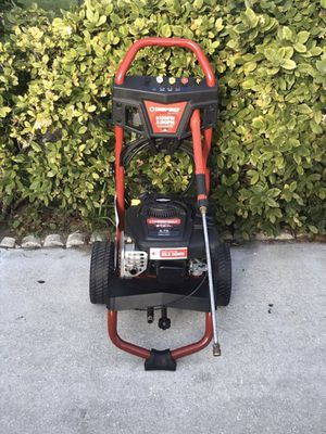 PRESSURE WASHER- BRIGGS AND STRATTON ENGINE 3100 PSI 2.5 GPM, IDLE DOWN-TECHNOLOGY- GAS SAVER (RUNS QUIET, WHEN TRIGGER INACTIVE) for Sale in Greenacres, FL