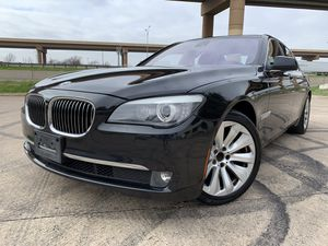 2011 BMW 750i HYBRID LOW MILES TECH PACKAGE EXCELLENT CONDITION for Sale in Dallas, TX