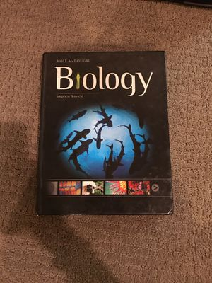 Holt McDougal Biology textbook (used) for Sale in Houston, TX