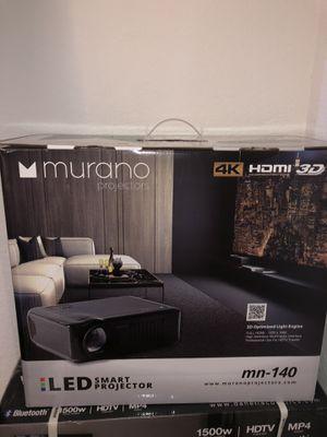 Smart projector, Denali surround system, projector screen for sale! for Sale in Wichita, KS